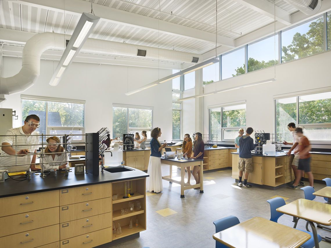 chemistry lab work at westtown school science center westchester chemistry lab work at westtown school science center westchester pa smp architects