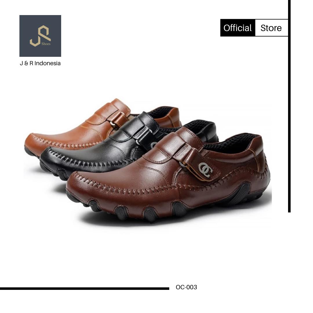 Sepatu Kasual Kulit Type Oc 003 Garansi 100 Asli Kulit Sepatu