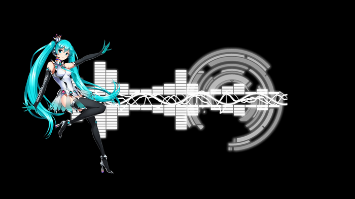 Hatsune Miku Vocaloid Music Wallpaper Miku Hatsune Hatsune Miku