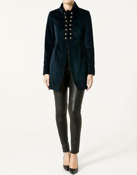 abrigos y chaquetas mujer zara 2011