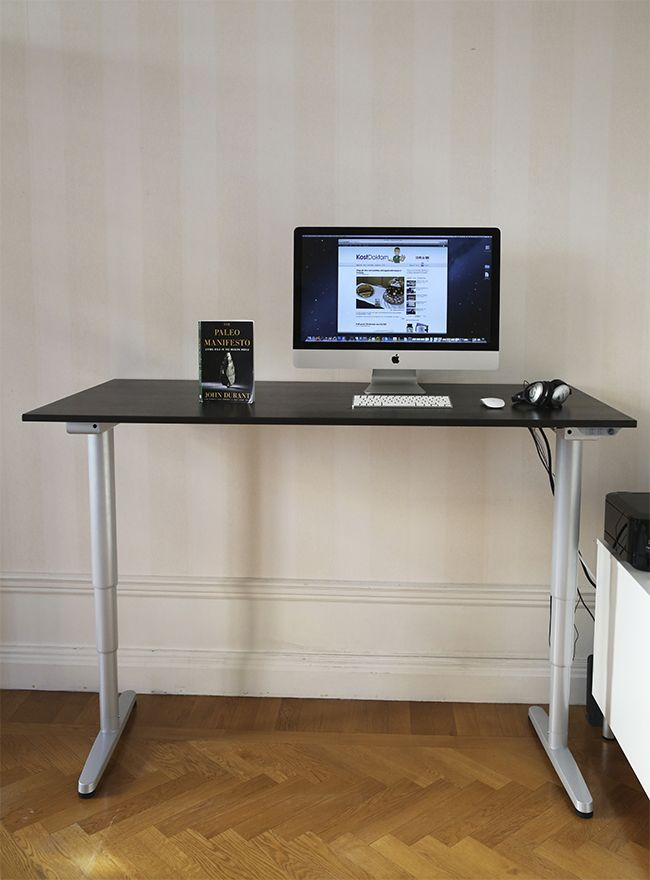 The Stone Age Meets The Future Diet Doctor In 2020 Ikea Bekant Desk Home Standing Desk