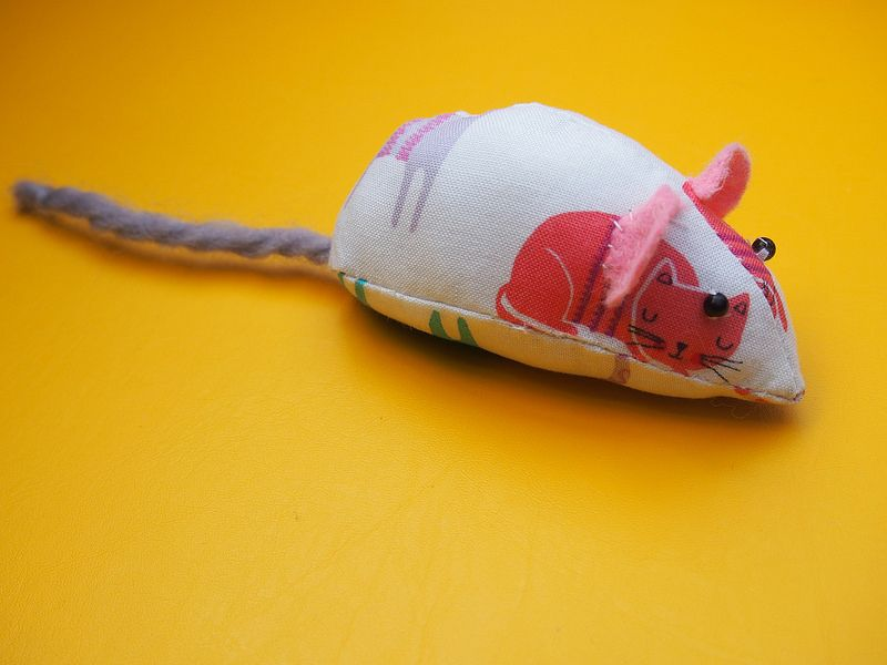 Novelty Cat Print: DIY Mouse Cat Toy