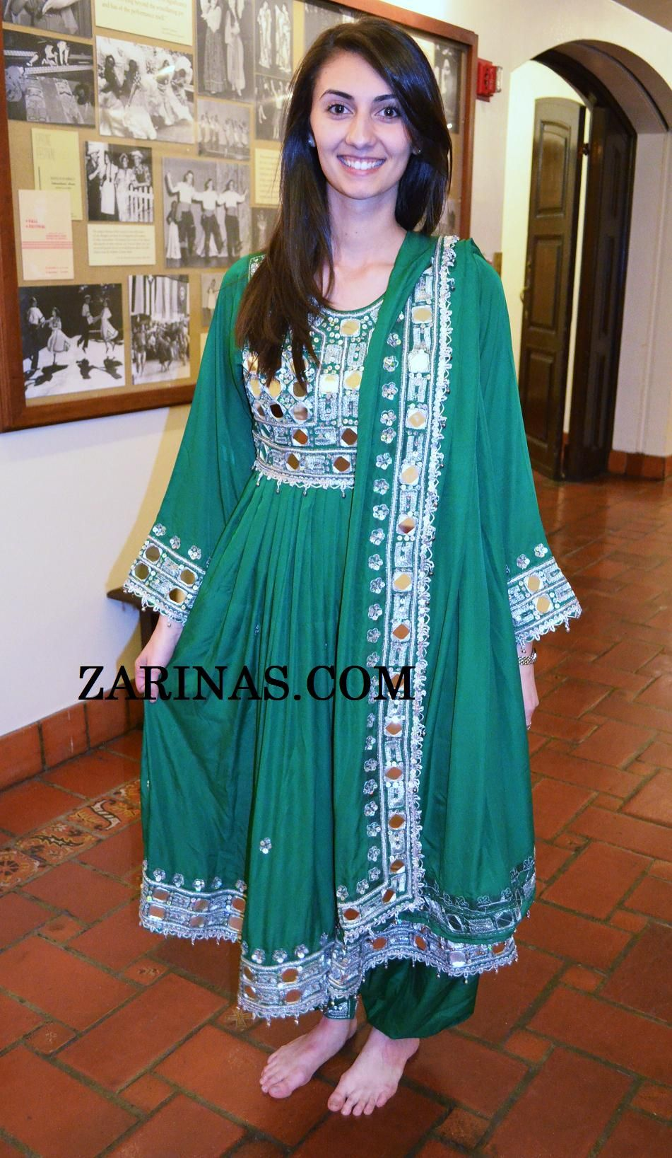 Forogh Fancy Afghan Dress. Click here to enlarge image Forogh is a ...