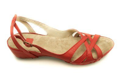 ZapatosSandalias Vialis Planas Casual Calzas RojoZapatos Y ON8nX0Pkw