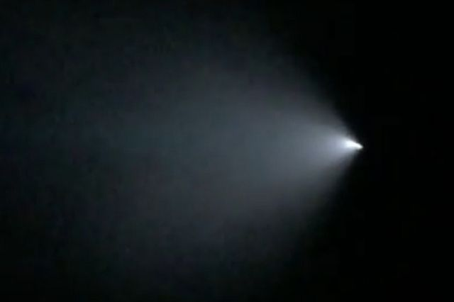 Mysterious flashes of light in the Las Vegas sky tonight may