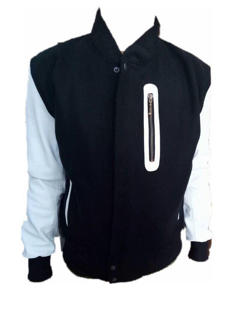 d2be44ed987649 MICHAEL B JORDAN KOBE DESTROYER XXIV BATTLE LEATHER SLEEVES JACKET  fashion   clothing  shoes  accessories  mensclothing  coatsjackets (ebay link)