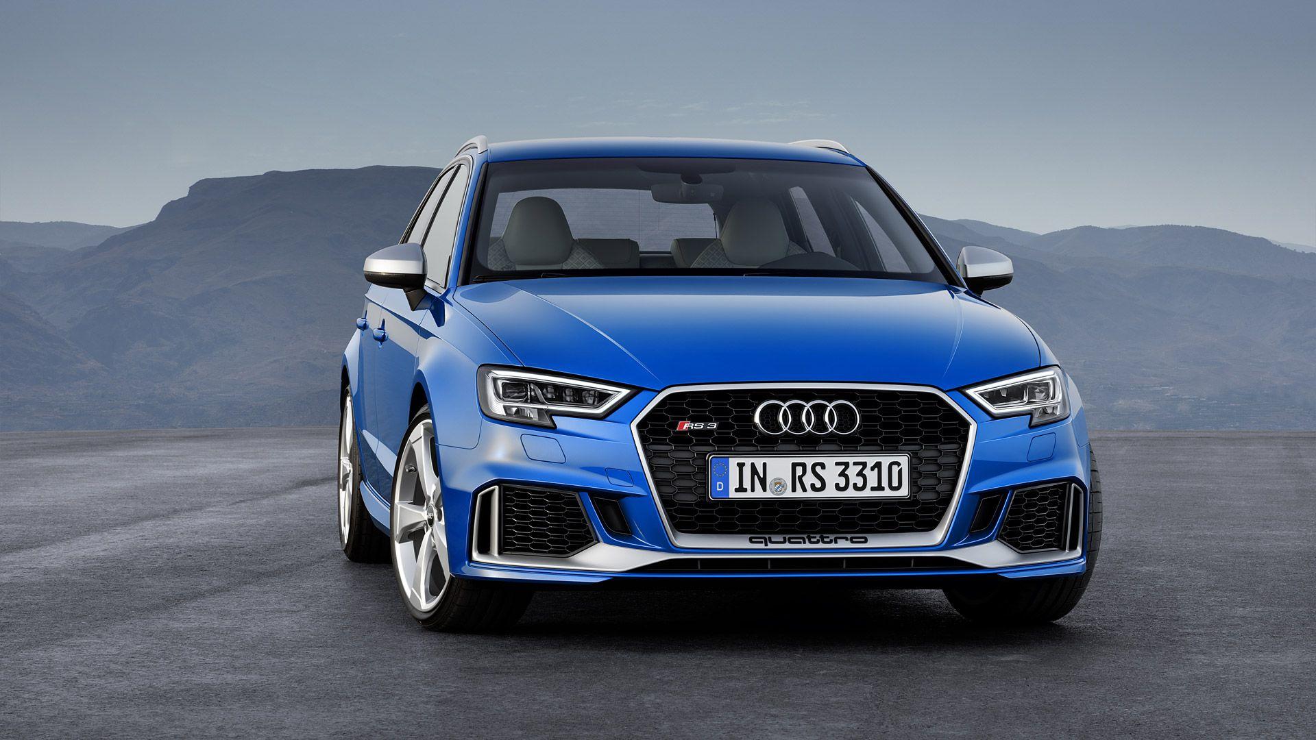 2018 Audi RS3 Sportback Audi rs3, Audi rs4, Audi rs