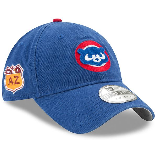 4f74a60fed4 Chicago Cubs 2017 Spring Training 9Twenty Cooperstown Adjustable Hat   ChicagoCubs  Cubs  MLB  FlyTheW