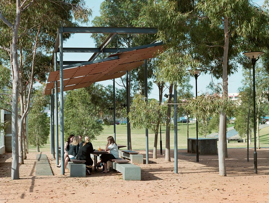 Landscape Architecture Hassell Project Name Victoria Park Public Domain Location Sydney New South Wale Landscape Structure Canopy Outdoor Shade Structure