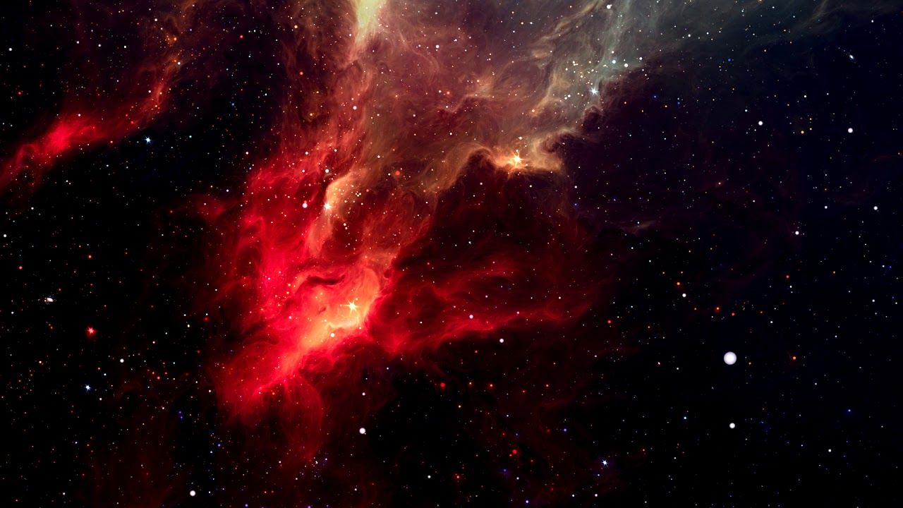 Red Nebula Flying Through Space Nebula Wallpaper Wallpaper Space Hd Space