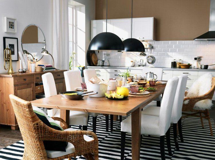 Ikea Esstisch 15 Beispiele In Bester Schwedischer Qualitat Ikea Esstisch Esszimmertisch Esszimmer Inspiration