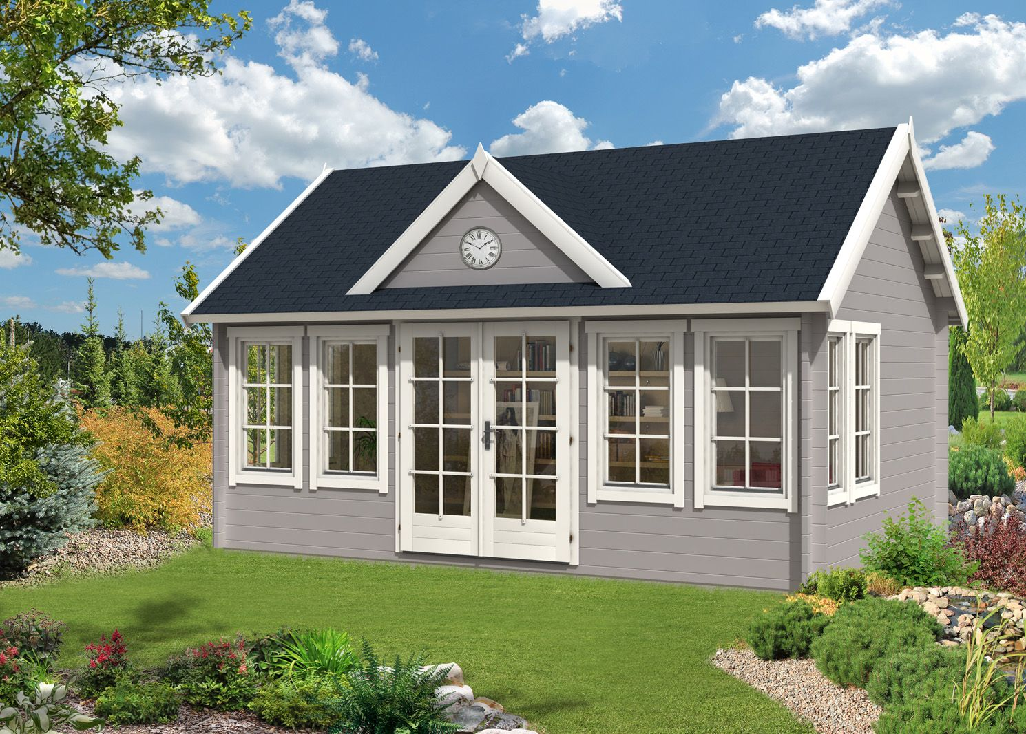Gartenhaus Modell ClockhouseXL Gartenhaus, Haus, Style