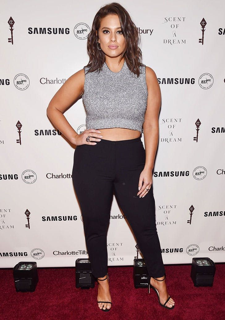 d05eebe5376 7 Styling Tips We Learned from Ashley Graham via  PureWow