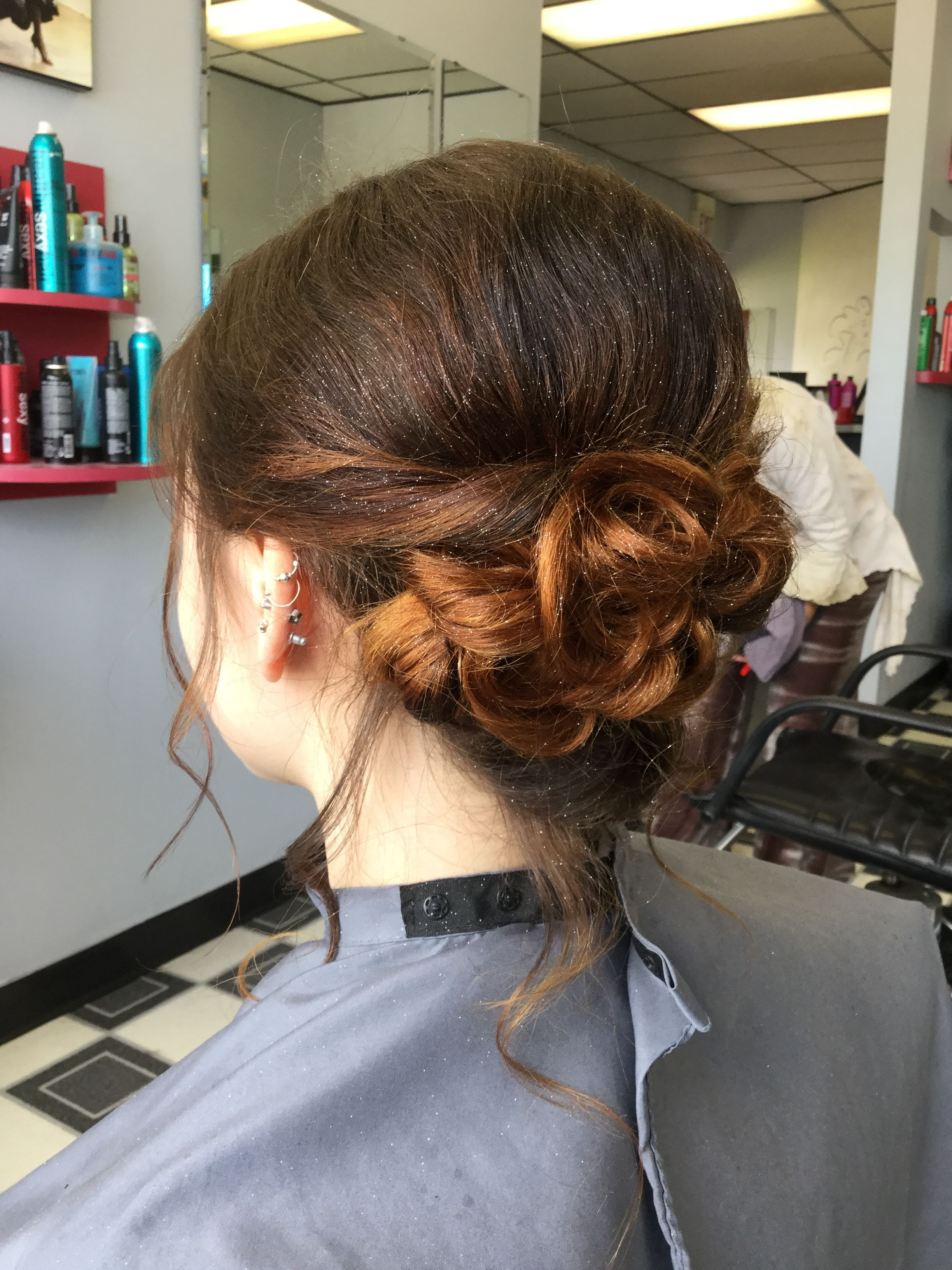 Up do, low bun, braid, prom, special occasion | Special ...