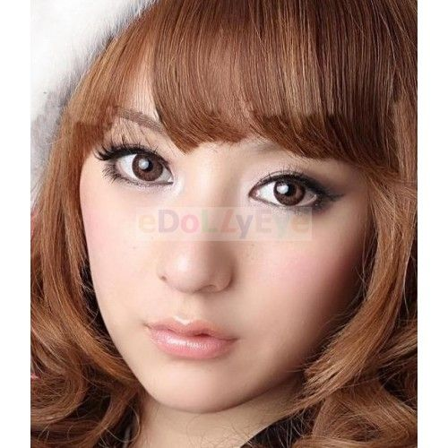 Circle lens:Gothic Brown series  Diameter : 14.5mm