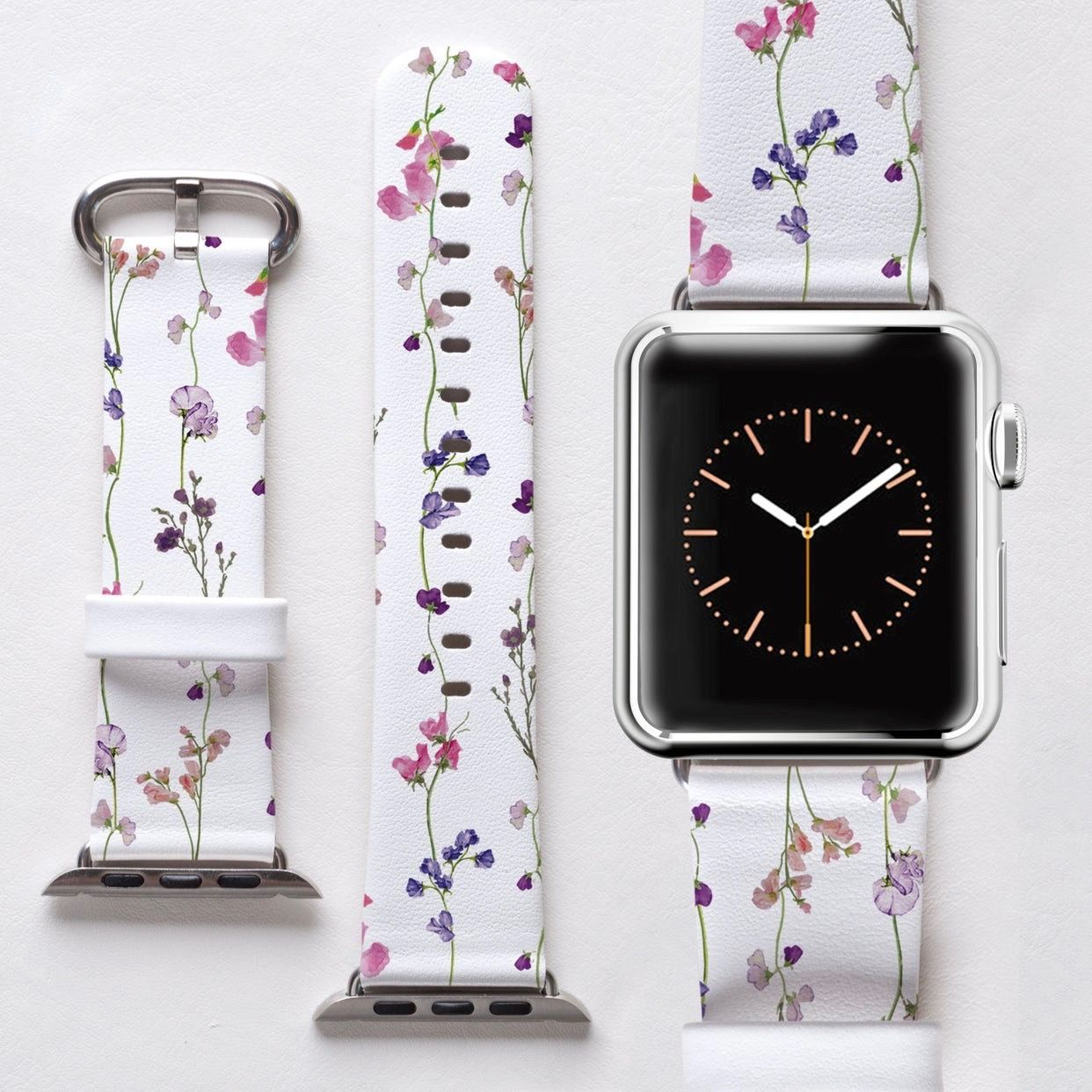 Floral 1 Apple Watch Band Cute apple watch bands