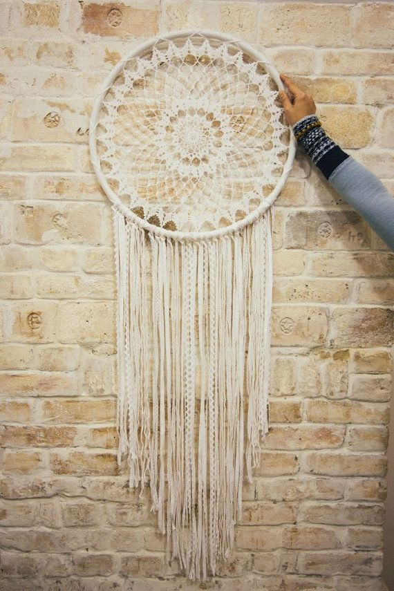 Dream catcher wall hanging | Dreamcatcher | Bohemian decor | Bedroom ...