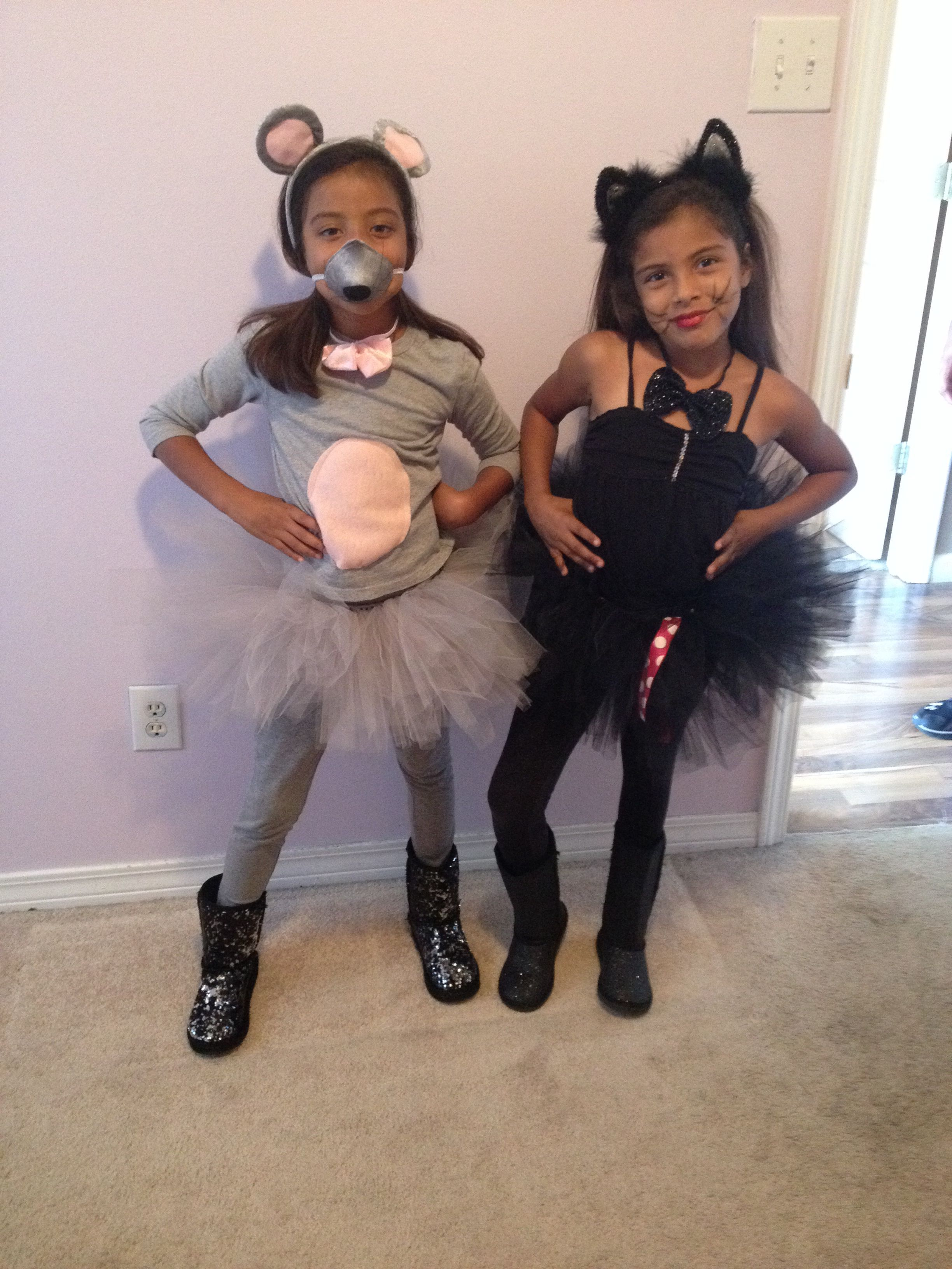 cat and mouse costumes