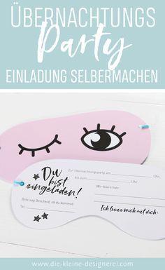 24 Seitiges E Book Zum Ausdrucken, Basteln, Dekorieren Und Einladen Zu  Einer Übernachtungsparty. Über 50 Unterschieu2026 | Geburtstagsparty Für  Jugendliche ...