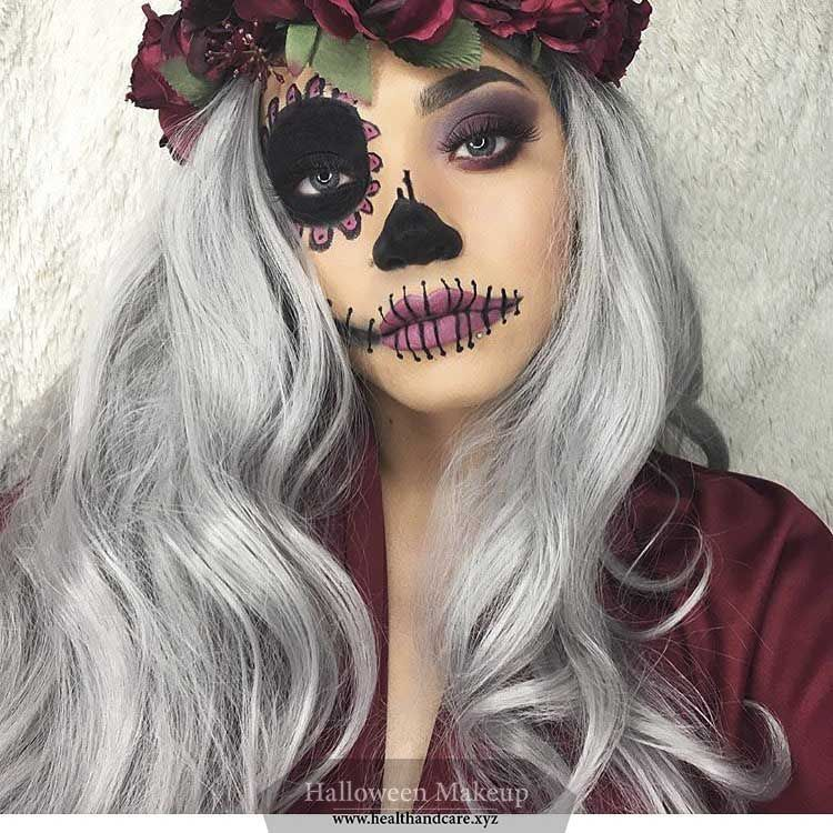 The 50 Best Halloween Makeup Ideas For Women Halloween Makeup Pretty Halloween Hair Halloween Makeup Easy