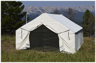 Montana Canvas Wall Tent - 14 x 20    A classic time & Montana Canvas Wall Tent - 14 x 20: