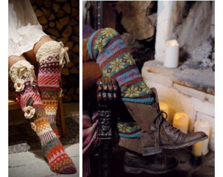 Patrones de calcetines y medias | Tejido | Pinterest | Patrón de ...