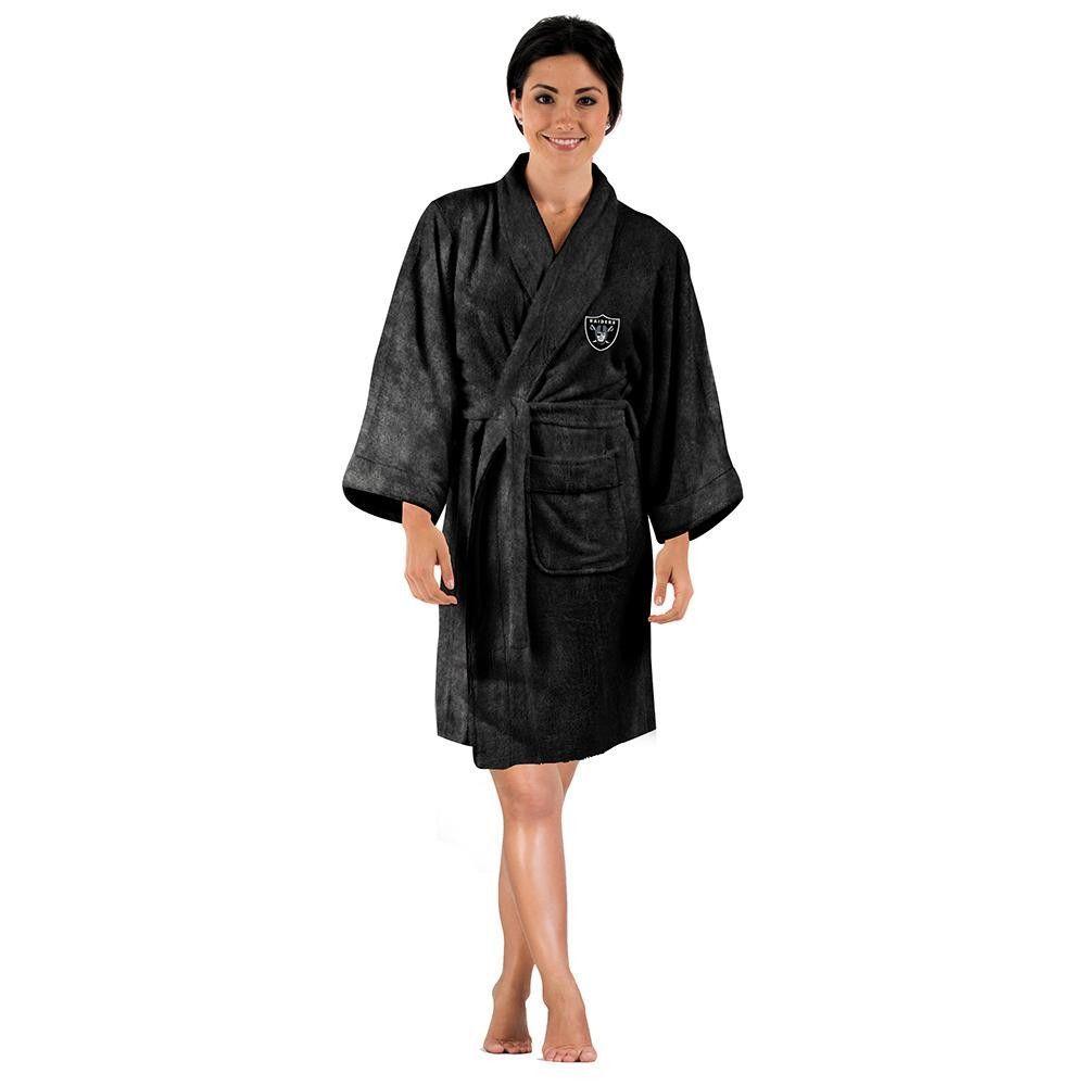 da9c504eb05 Oakland Raiders NFL Silk Touch Women s Bath Robe