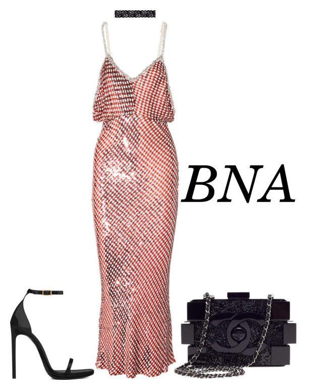 98ecd21fe5 BNA by deborahsauveur on Polyvore featuring polyvore moda style Ashish Yves  Saint Laurent Chanel Akira fashion clothing