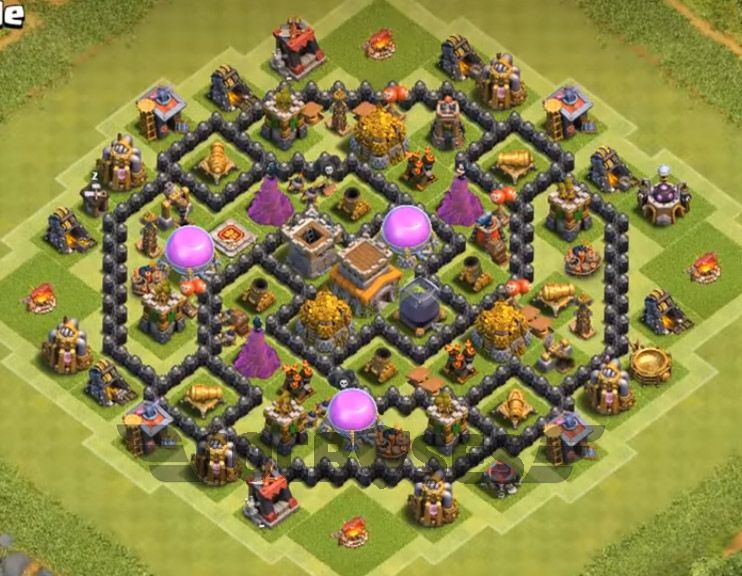 Base Coc Th 8 Terkuat 6