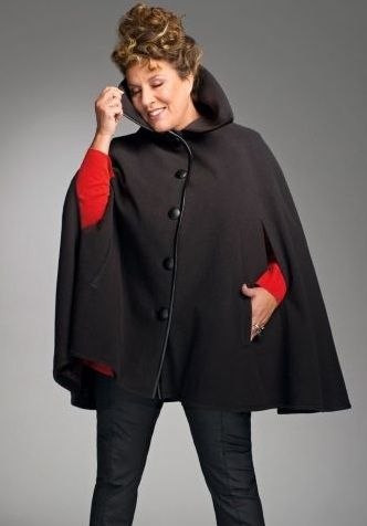 Cape Grande Taille Collection Mariane James Pour