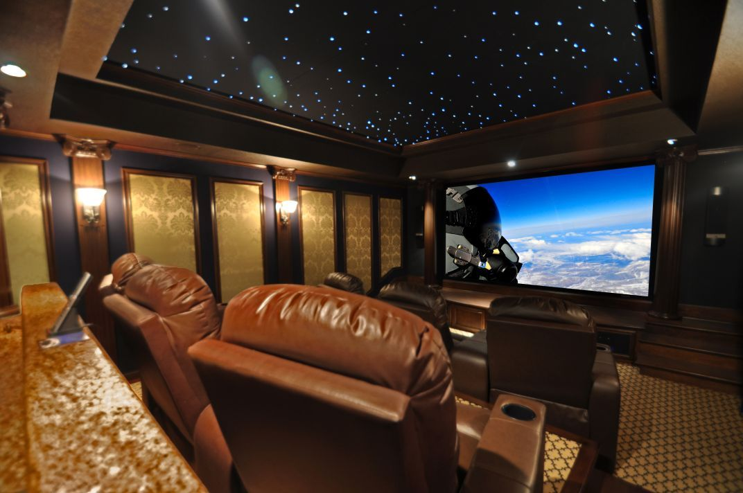 Ceiling Idea In Movie Room Heimkino Heim Traumhaus