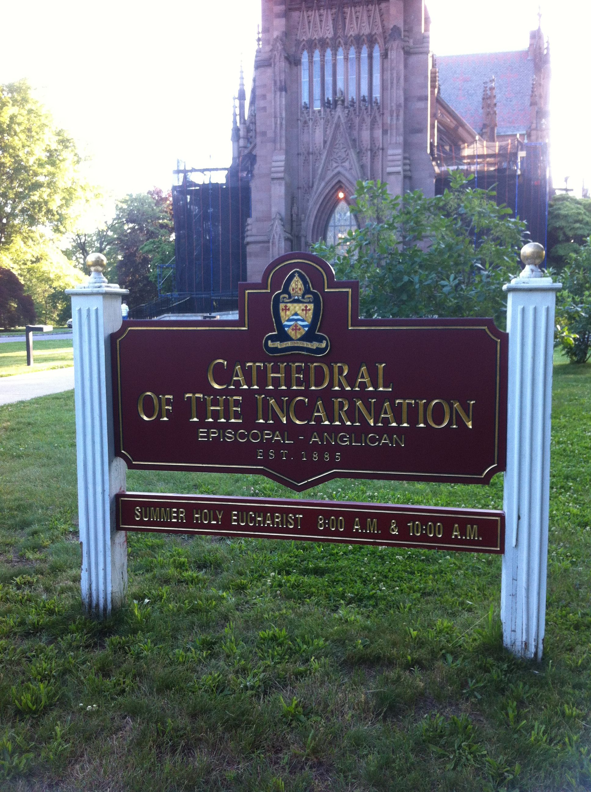 The Cathedral Of The Incarnation In Beautiful Garden City On Long Island About An Hour By