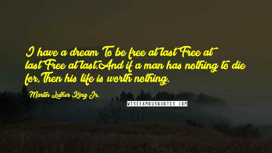 Free At Last Quote