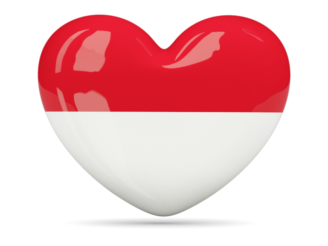 Heart Icon Download Flag Icon Of Indonesia At Png Format Heart Icons Flag Icon Singapore Flag