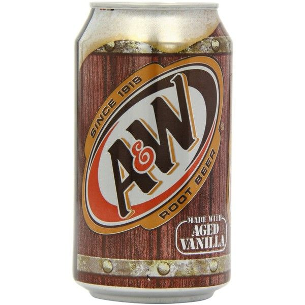 A W Root Beer 12 12 Oz Cans 18 Liked On Polyvore Featuring Food Drinks And Filler Root Beer Beer A W Root Beer Can