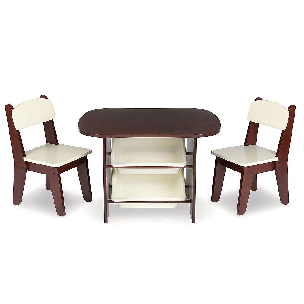 Imaginarium Table and 2 Chair Set Espresso - Imaginarium - Toys\