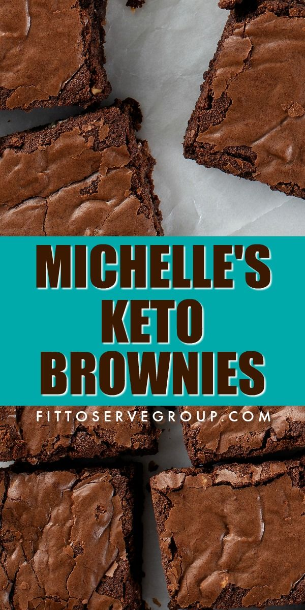 Michelle's Keto Brownies #lowcarbrecipes