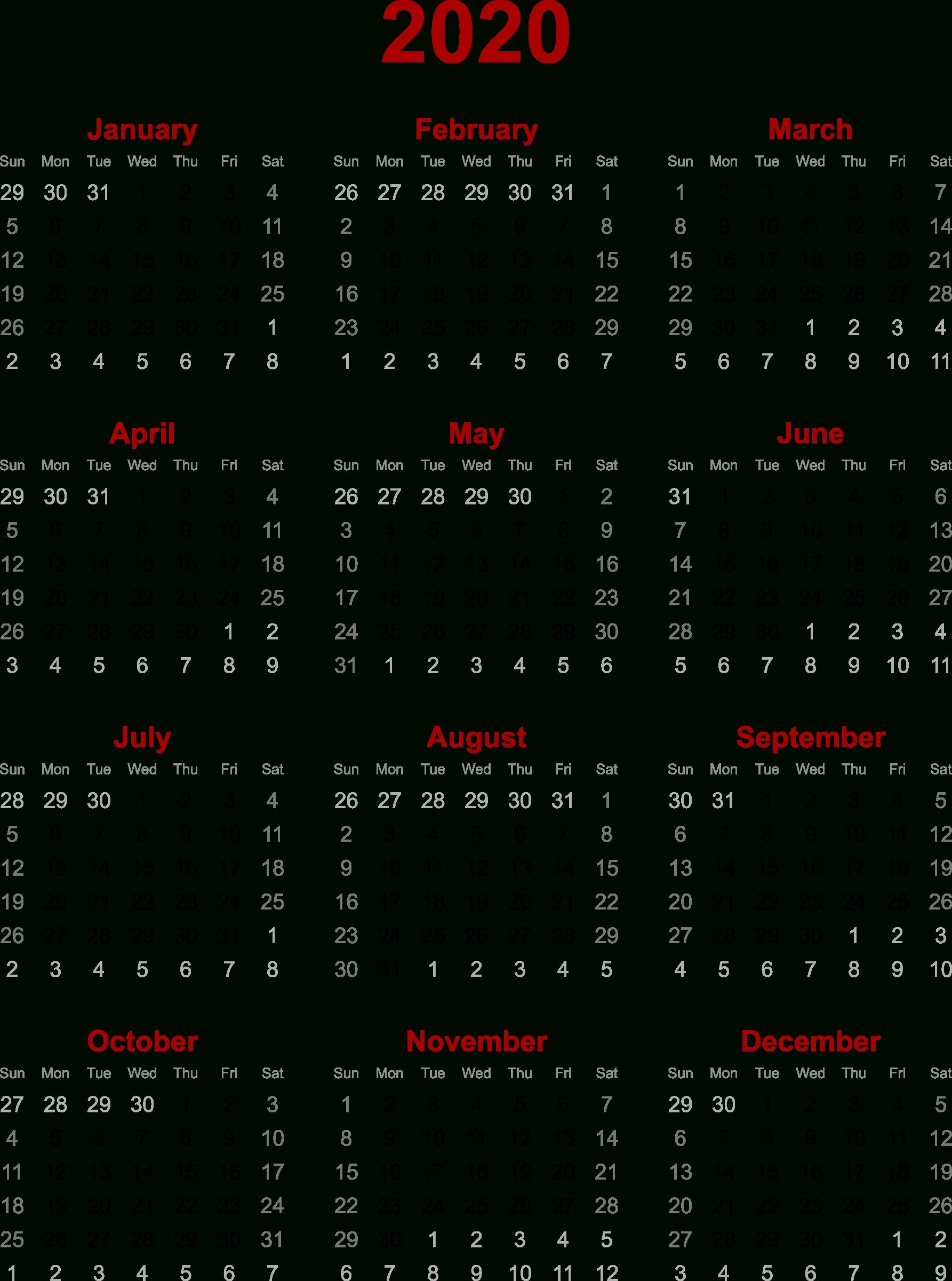 Impressive Calendar 2020 Zile Libere In 2020 Printable Calendar Template August Calendar Calendar Icon