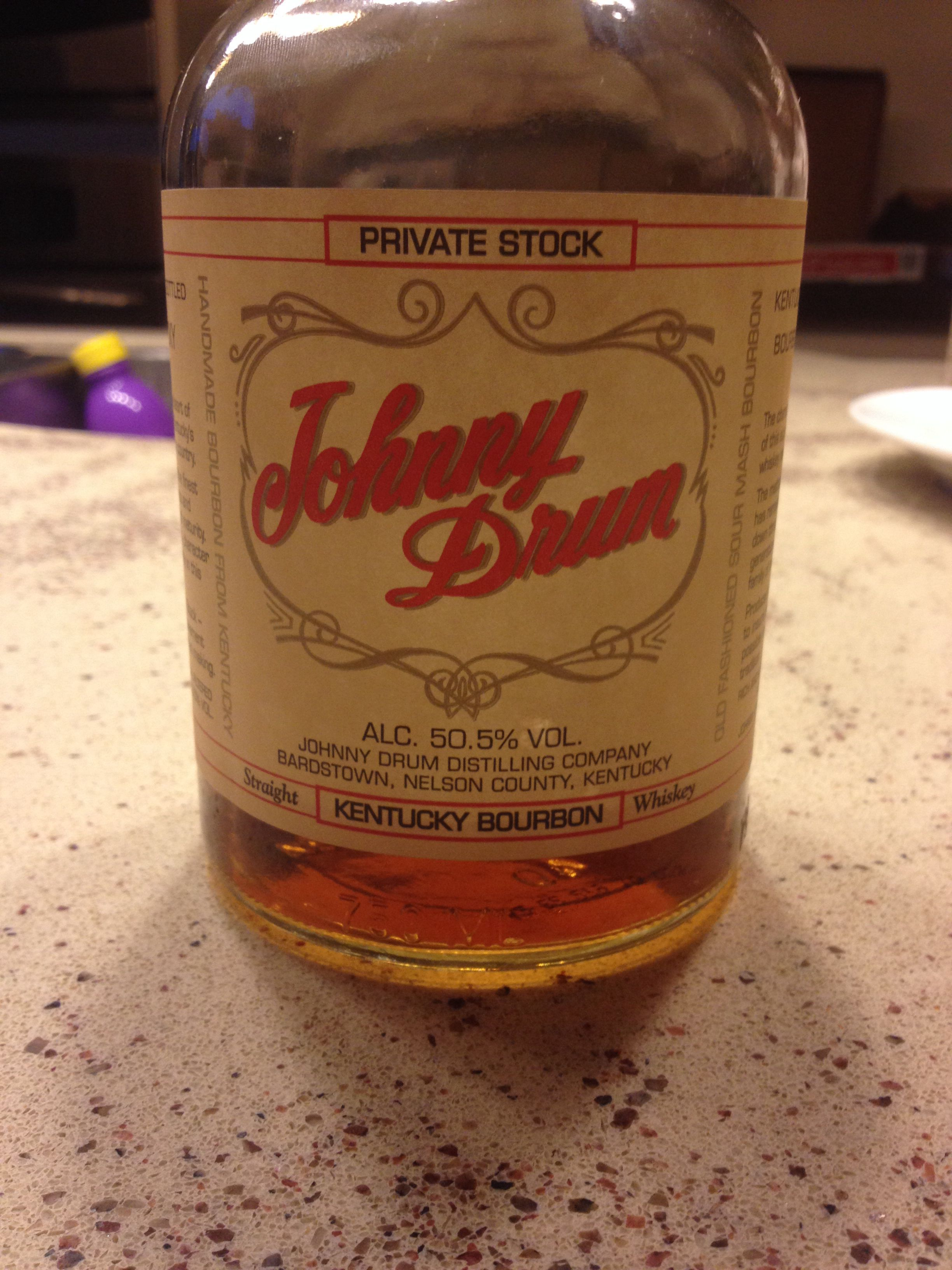 Johnny drum private stock 101 proof warm charcoal