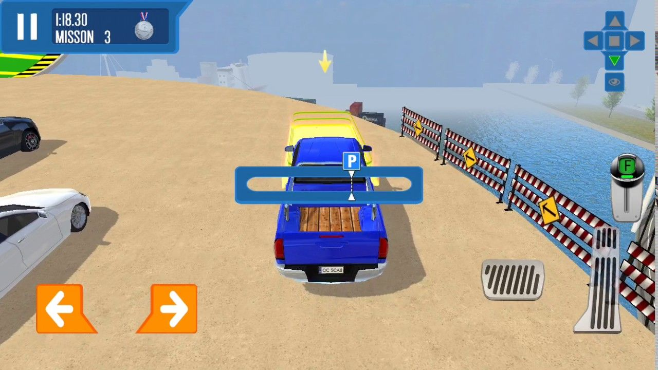 City Driver: Roof Parking Challenge Gameplay - iOS | Racing