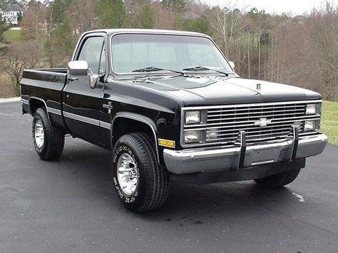 1984 Chevy Silverado >> 1984 Chevy Silverado I Think I M In Love 80s Chevy Truck