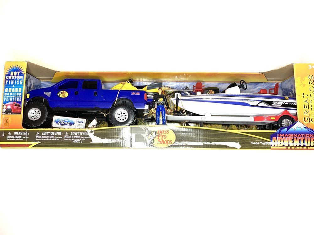 Bass Pro Shoo Great Outdoors Imagination Adventure F 250 Toy Set