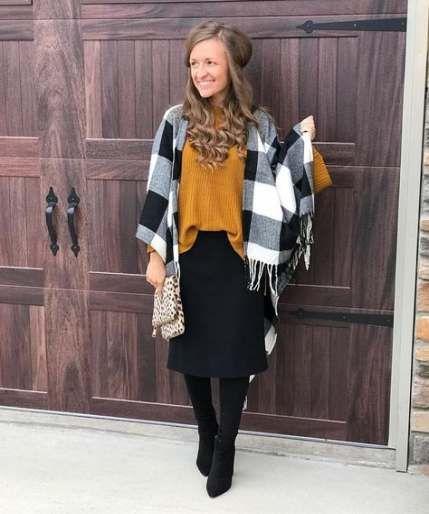 How To Wear Skirts In Winter Modest Fashion 43+ Ideas #modestfashion