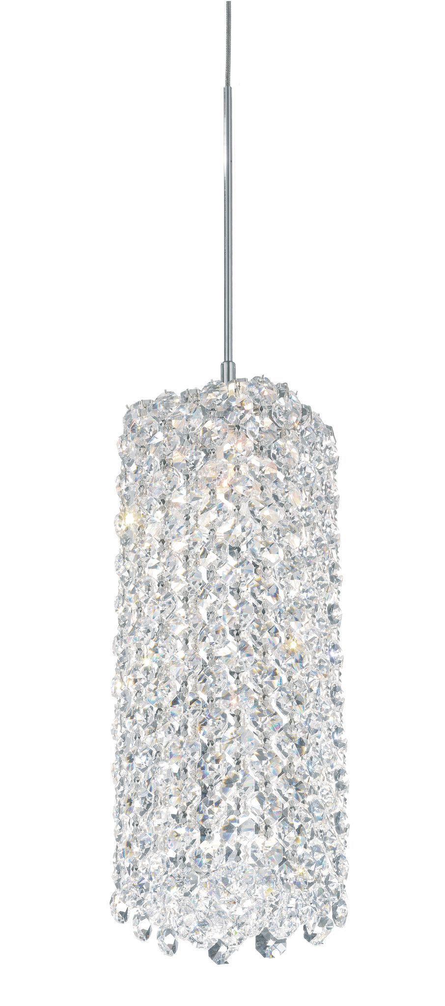 Geometrix By Schonbek Re0409 Refrax 4 Inch Mini Pendant