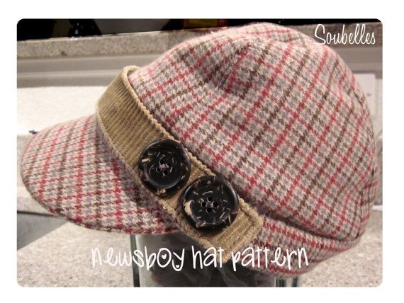 Sewing pattern fleece winter hat for boys The Mateo by soubelles ...