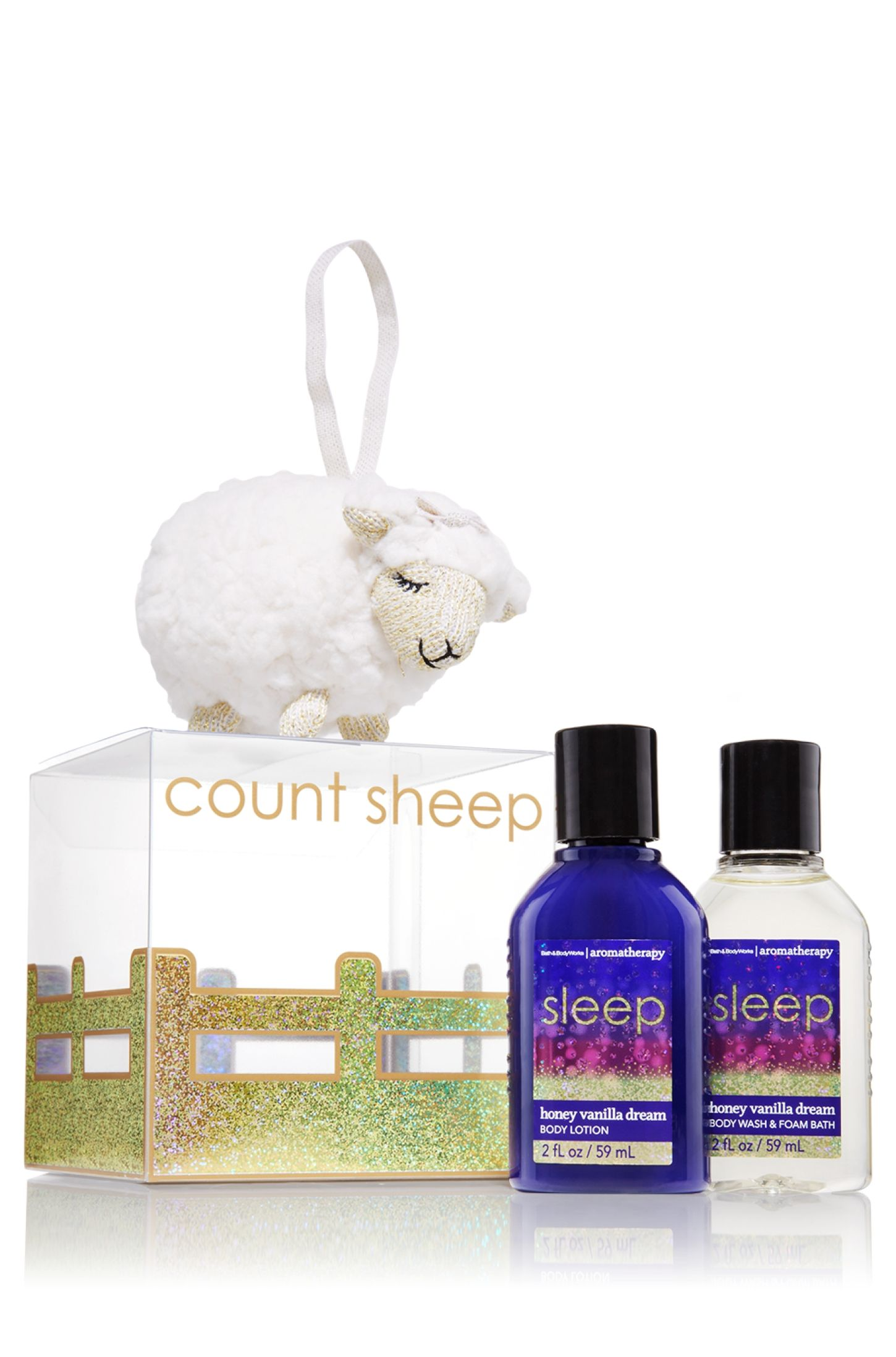 Sleep - Honey Vanilla Dream Mini Lambie Gift Set - Aromatherapy - Bath & Body Works; perfect for the holidays!! plus that little sheep is too damn cute.
