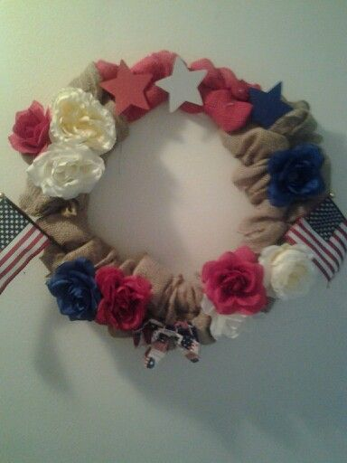 Independence wreath