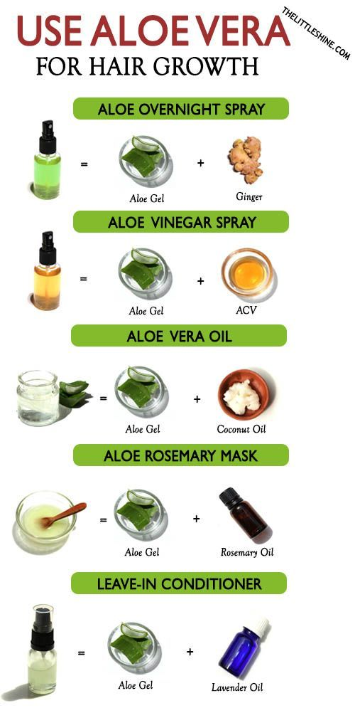 WAYS TO USE ALOE VERA FOR HAIR GROWTH - The Little Shine