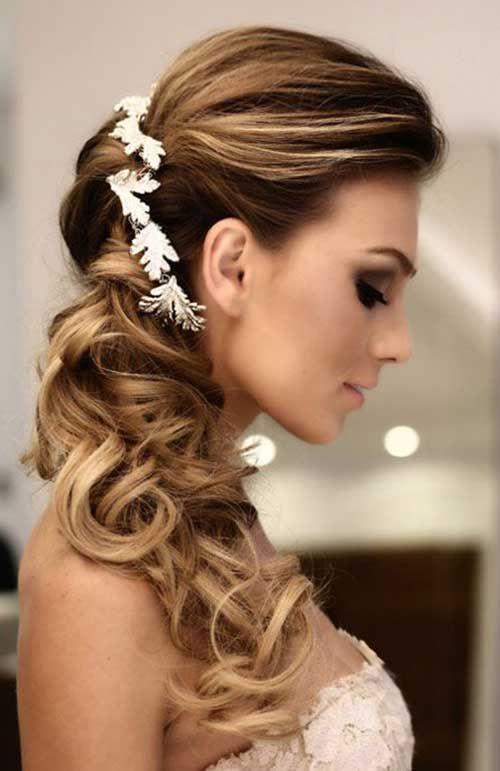 Favoritos Descubra como fazer 8 penteados para noivas com tiara Os penteados  WZ02