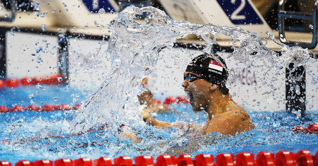 This Swimmer Beat His Hero At The Olympics Eight Years